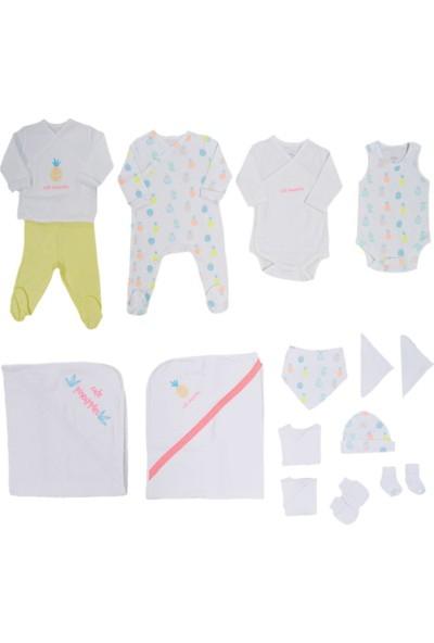 İdil Baby 10484 15'Li Bebek Hastane Çıkış Seti 0 Ay