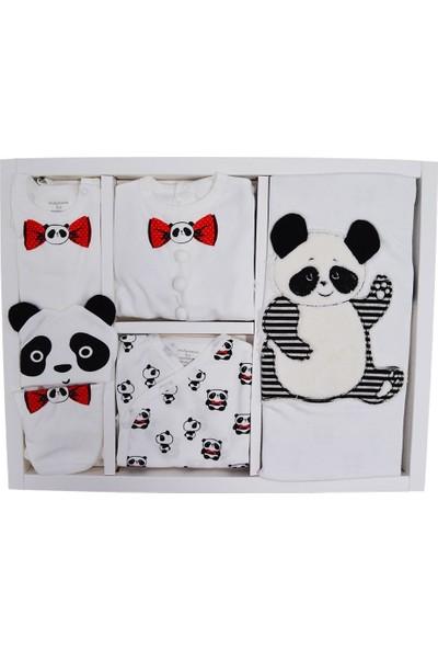 Andywawa Ac9428 Panda Hastane Çıkışı 10Lu Set 0-3 Ay