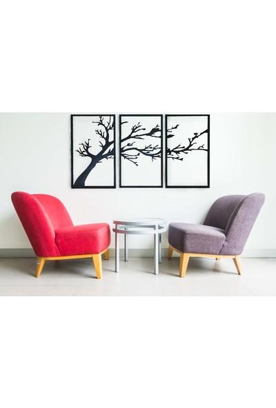 ST Design 3'lü Ağaç Tablo