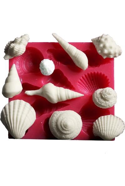 Cesil Deniz Kabuklari Kokulu Taş ve Sabun Kalıbı (7,5*8Cm)