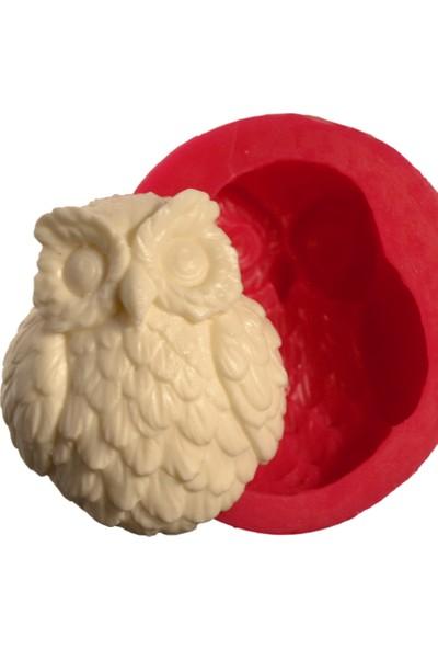 Cesil Baykuş Silikon Kokulu Taş & Sabun Kalıbı