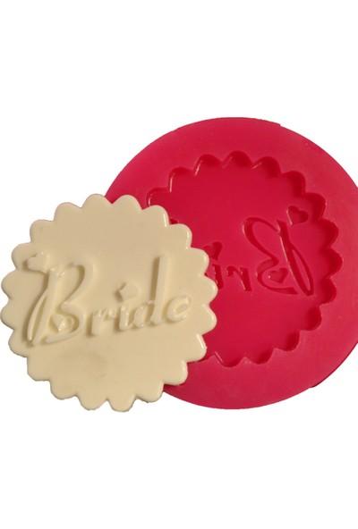 Cesil Bride Cupcake Kokulu Taş ve Sabun Kalıbı (5,5*5,5Cm)