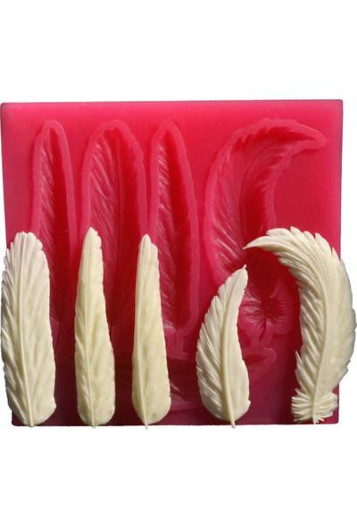 Cesil Çoklu Tüyler - 2Kokulu Taş ve Sabun Kalıbı (7,5*8Cm)