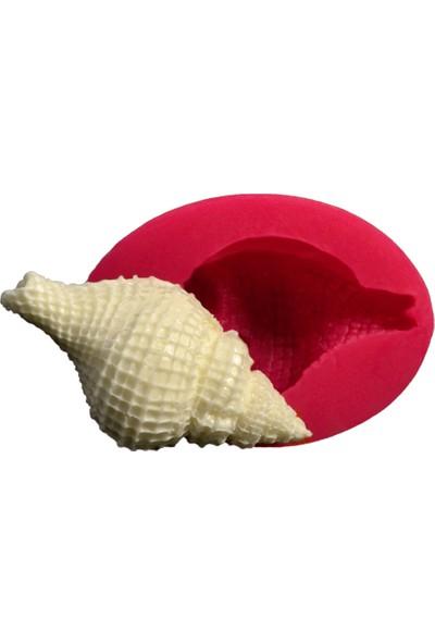 Cesil Deniz Kabuğu - 4 Kokulu Taş ve Sabun Kalıbı (6,5*3,5Cm)