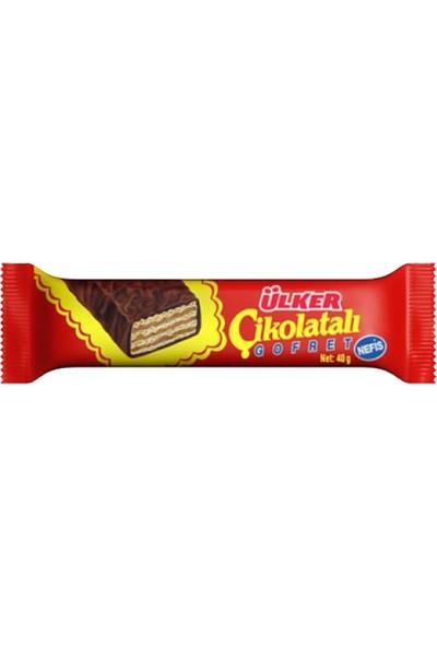 Ülker Çikolatalı Gofret 40gr 6'Lı Set