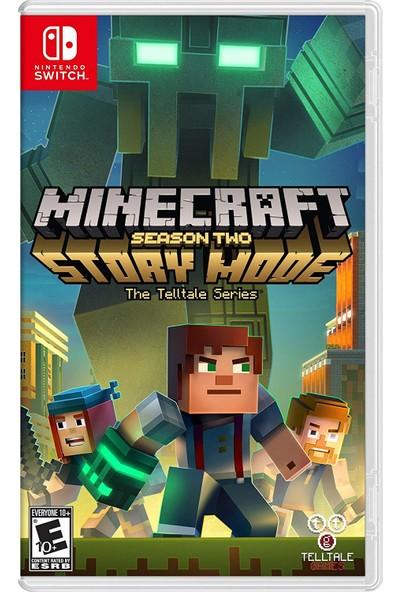 Telltale Games Minecraft Story Mode Season 2 - Nintendo Switch Oyun
