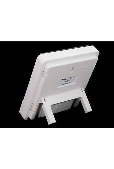 Pi İthalat Masaüstü İç - Dış Mekan Dijital Termometre Nem Ölçer Higrometre