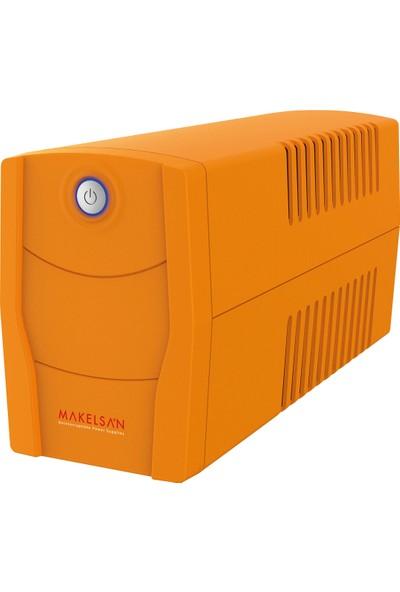 Makelsan Lıon X 850Va Usb (1X 9Ah) 5-10DkUsb Giriş + Tkz-63A Kablo + Tkz Pad