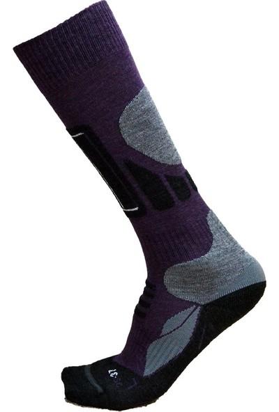 Thermodry ProSki Termal Çorap Soğuk İklim ve Kayak Uzun Konç 1011