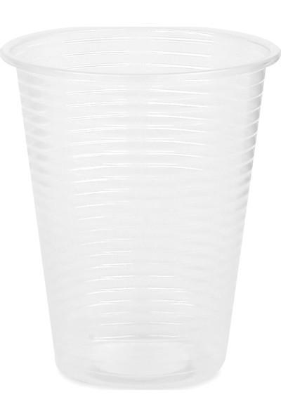 Propack 100 Adet 180Cc Şeffaf Plastik Bardak