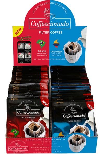 Coffeecionado Pratik Filtre Kahve 50li Paket Brasil/Colombia