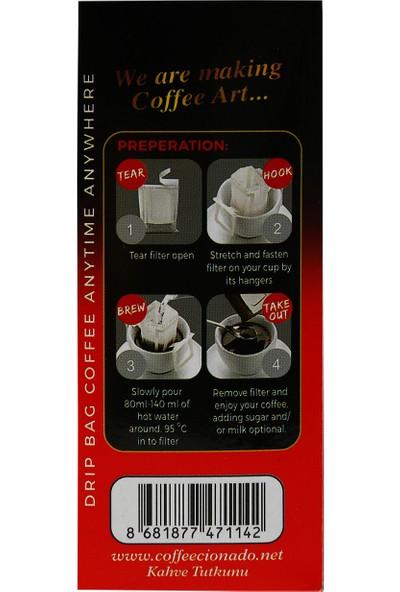 Coffeecionado Pratik Filtre Kahve 5li Brasil/Single Origin