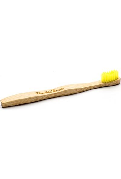 Humble Brush Bambu Diş Fırçası Çocuk Sarı Ultra Yumuşak