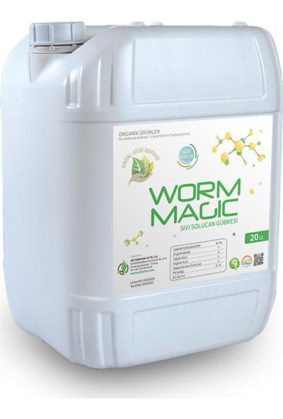 Arı Tarım Worm Magic Yeni nesil , Nanoteknolojik, Yoğunlaştırılmış Sıvı Solucan Gübresi 20 Lt