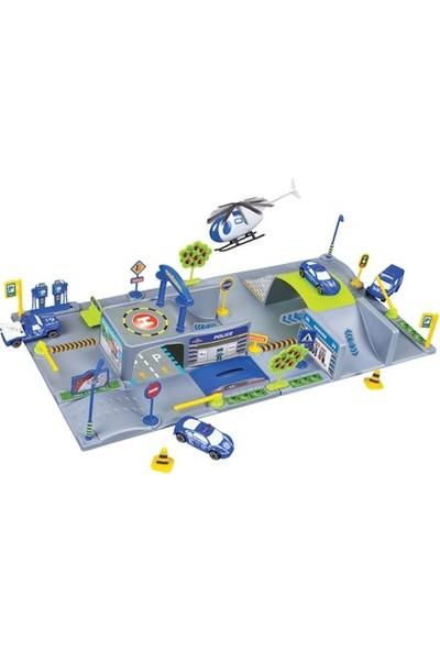 Birlik Oyuncak 2 Üniteli İtfaiye Garaj Seti - 5 Araçlı