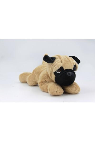 B-Plush Yatan Büyük Pug Köpek