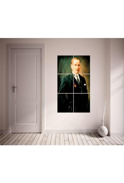 Agf Tablo Atatürk Posteri Dekoratif 6 Parça Mdf Tablo