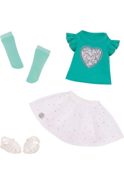 Glitter Kıyafet Sparkling Top Skirt