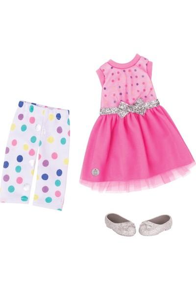Glitter Kıyafet Dress Legging