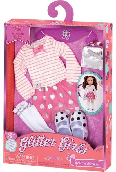 Glitter Kıyafet Deluxe Skirt Top