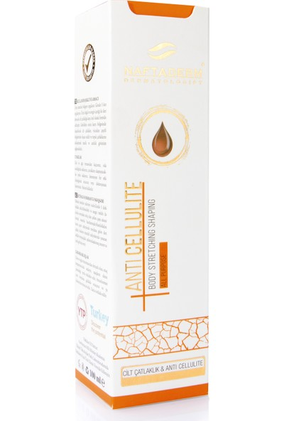 Naftaderm Anti Cellulite Body Stretching Shaping