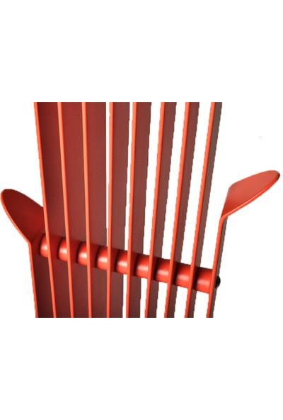Roka Design Vestree Elektrostatik Boyalı Metal Askılık Vestiyer