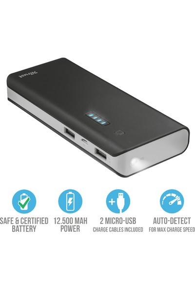 Trust URBAN Primo 12500 mAh Taşınabilir Şarj Cihazı - 21212