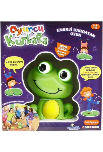 Samatlı Oyuncu Kurbağa
