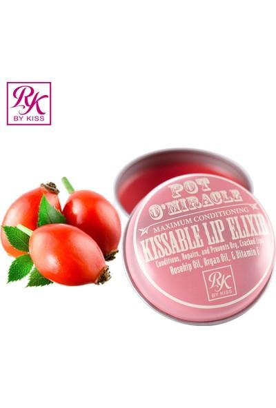 Ruby Kisses Pot O'Miracle Dudak Nemlendiricisi - Kuşburnu Yağı & Gül 10 gr