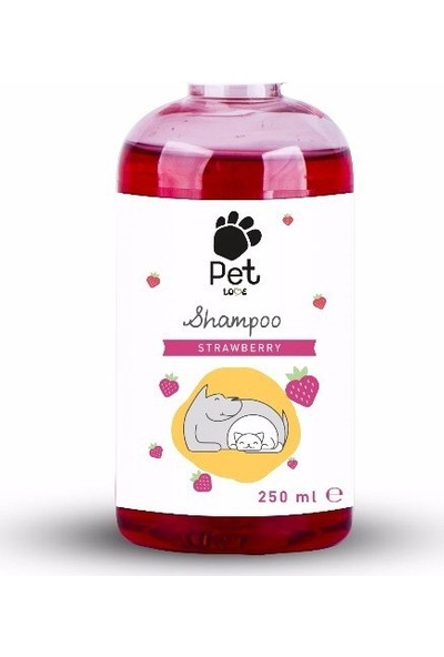 Pet Love Eco Kedi & Köpek Şampuanı Strawberry 250 Ml