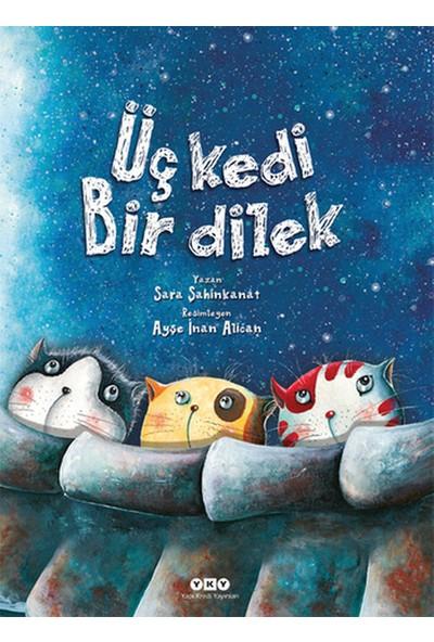 Üç Kedi Bir Dilek (Ciltli) - Sara Şahinkanat