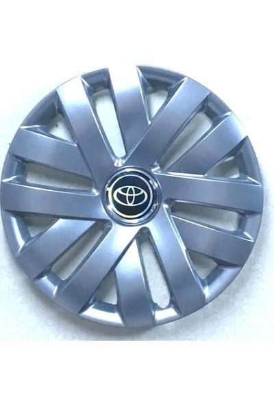 Toyota Yaris 15 İnch Kırılmaz Esnek Jant Kapağı 4 Lü
