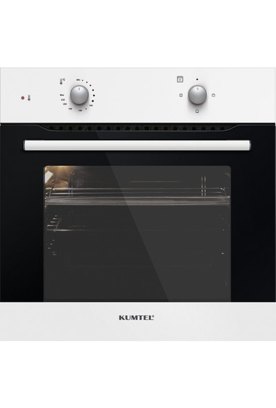 Kumtel White Still Eco 3'lü Ankastre Set(A6S2 Statik Fırın+ KO-410BF Ocak+ KO-705/DP 6 W Davlumbaz)