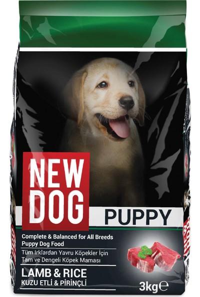 New Dog Kuzu Etli&Pirinçli Yavru Köpek Maması 3 kg