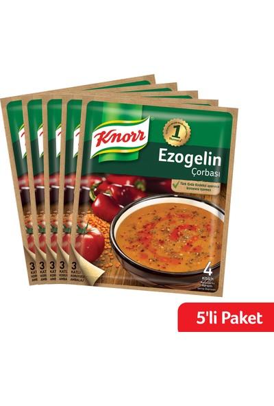Knorr Hazır Çorba Ezogelin 5'li Paket