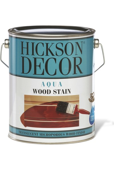 Hickson Dekor Aqua Stain Red Ochre 2,5 Lt Ahşap Boyası Su Bazlı