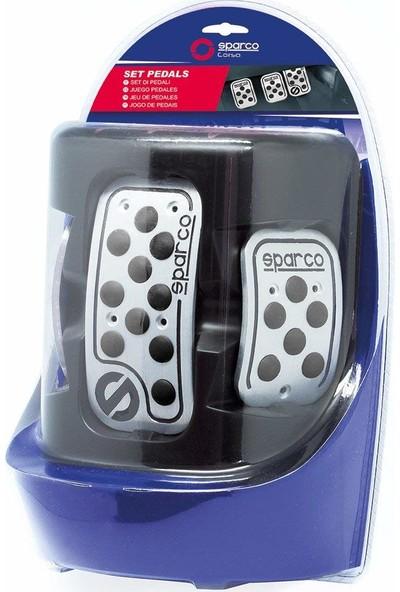 Sparco SPC0406BK Corsa Raicing Pedal Seti Siyah
