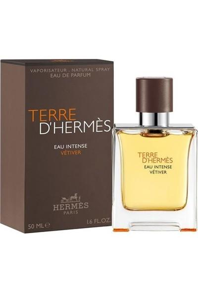 Hermes Terre D'Hermes Eau Intense Vetiver Edp 50 ml Erkek Parfümü