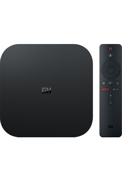 Xiaomi Mi Box S 4K Android TV Box Media Player HDR - Dolby DTS - Chromecast