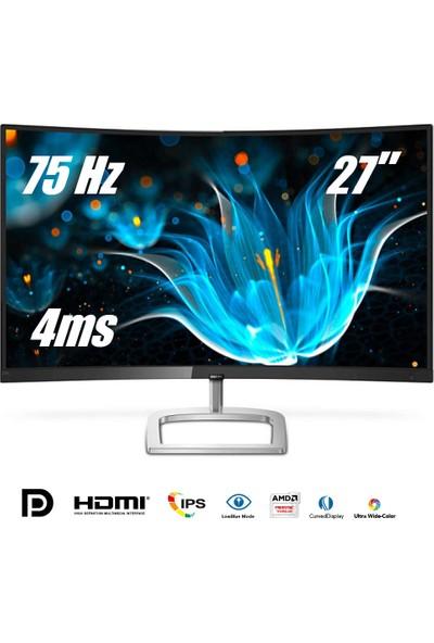"Philips 278E9QJAB/00 27"" 75Hz 4ms (HDMI+Analog+Display) FreeSync Full HD Curved Oyuncu Monitör"