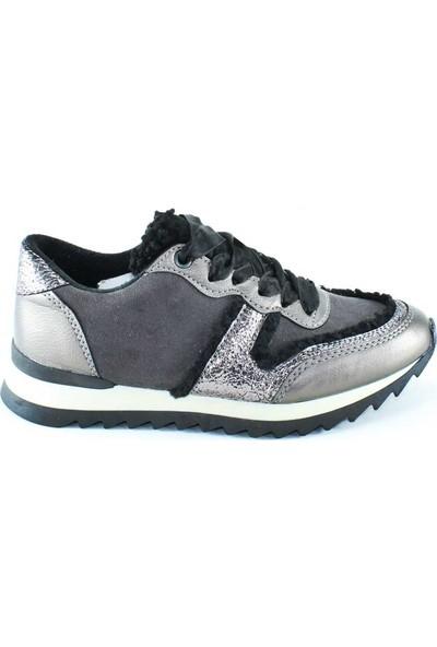Crash Sneakers Kadın Spor Ayakkabı Gri- Ponhak