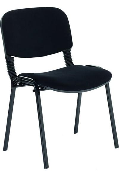 Coşkun Büro/22 Siyah-Kumaş Form Sandalye