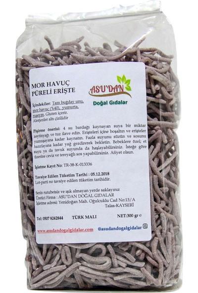 Asudan Doğal Gıdalar Mor Havuçlu Erişte 300gr