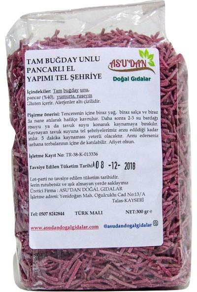 Asudan Doğal Gıdalar Pancarlı Tel Şehriye 300gr