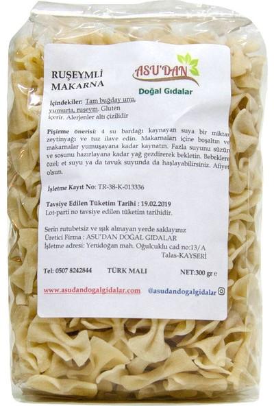 Asudan Doğal Gıdalar Ruşeymli Papyon Makarna300gr