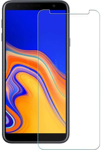 Case 4U Samsung Galaxy J4 Plus Temperli Cam Ekran Koruyucu