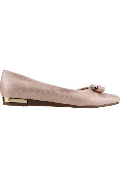 Miss Belinda St511 Pudra Günlük Yürüyüş Kadın Babet Ayakkabı