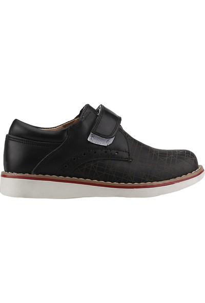 Fibinacci St660 Siyah Günlük Sünnetlik Okul Erkek Çocuğu Ayakkabı