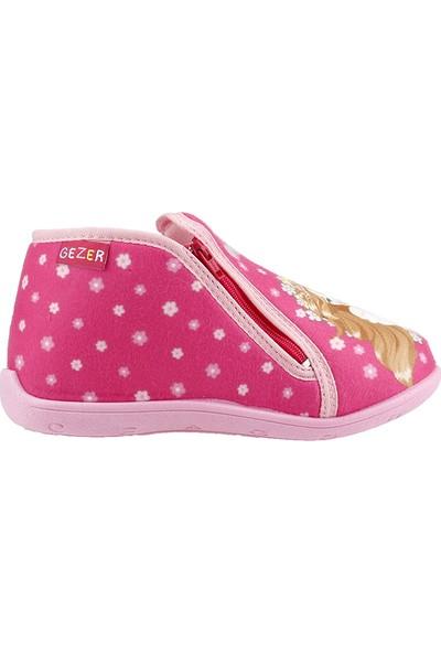 Gezer 2806 Fuşya Ev Kreş Ve Okul Kız Çocuk Panduf Ayakkabı