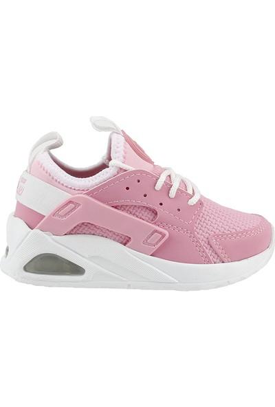 Lig Yıldız 66 Pembe Günlük Işıklı Kız Çocuk Spor Ayakkabı